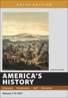 America's History, Value Edition, Volume 1