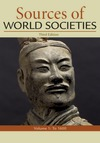 Sources of World Societies, Volume 1