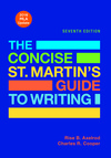 The Concise St. Martin's Guide to Writing with 2016 MLA Update