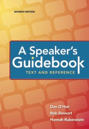 LaunchPad for A Speaker's Guidebook (Six Months Access)