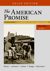 The american promise value edition volume 1 9781319061999 the american promise value edition volume 1 fandeluxe Gallery