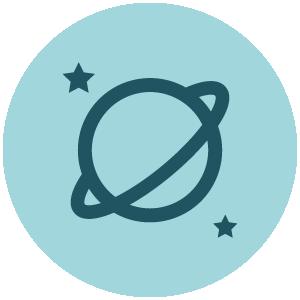 Astronomy Achieve Icon