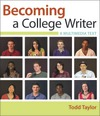 Becoming a College Writer