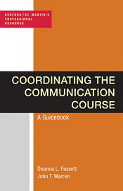 Coordinating the Communication Course