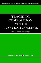 Teaching Composition at the Two-Year College