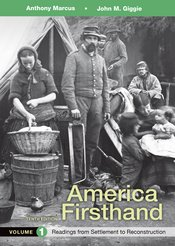 America Firsthand, Volume 1