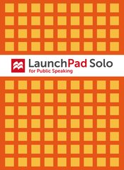 LaunchPad Solo for Public Speaking (Six Months Access)