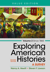 Exploring American Histories,  Volume 2, Value Edition