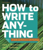 How to Write Anything with Readings