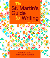 A Student's Companion for The St. Martin's Guide to Writing