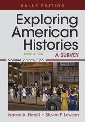 Exploring American Histories, Value Edition, Volume 2