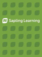 Sapling Homework-Only for Statistics (Six-Month Access)