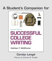 A Student's Companion for Successful College Writing