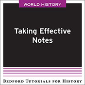 Taking Effective Notes - World