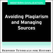 CM BHT Avoiding Plagiarism and Citing Sources - West