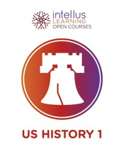 Intellus Open Course for United States History I (Six Months Access)