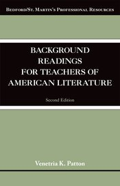 Background Readings for Teachers of American Literature