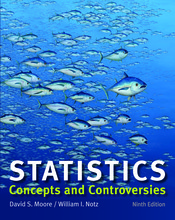 Loose-leaf Version for Statistics: Concepts and Controversies
