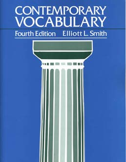 Contemporary Vocabulary by Elliott L. Smith - Fourth Edition, 1995 from Macmillan Student Store