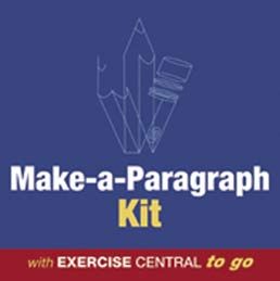 Make-a-Paragraph Kit by Bedford/St. Martin's - First Edition, 2007 from Macmillan Student Store