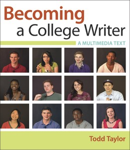Becoming a College Writer by Todd Taylor - First Edition, 2019 from Macmillan Student Store