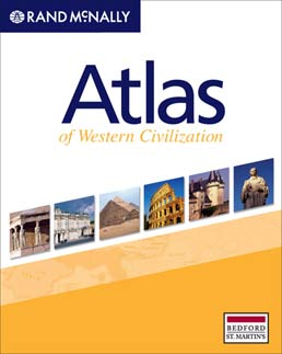 Atlas of Western Civilization by Rand McNally - First Edition, 2009 from Macmillan Student Store