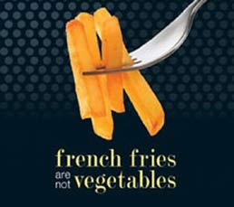 French Fries Are Not Vegetables by Peter Berkow - First Edition, 2011 from Macmillan Student Store