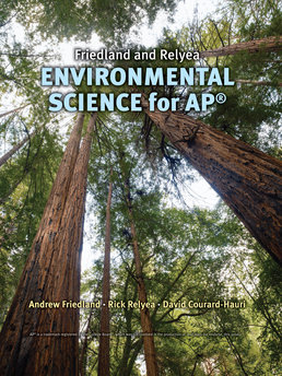 Friedland/Relyea Environmental Science for AP* by Andrew Friedland, Rick Relyea, David Courard-Hauri - First Edition, 2011 from Macmillan Student Store