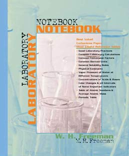 Student Laboratory Notebook by  W.H. Freeman and Company - Second Edition, 2000 from Macmillan Student Store