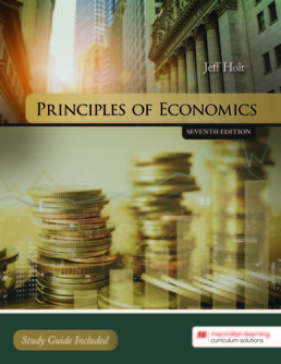 Principles of Economics by Jeff Holt - Seventh Edition, 2019 from Macmillan Student Store