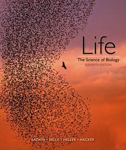 Life: The Science of Biology by David E. Sadava; David M. Hillis; H. Craig Heller; Sally D. Hacker - Eleventh Edition, 2017 from Macmillan Student Store