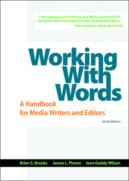 Working with Words by Brian S. Brooks; James L. Pinson; Jean Gaddy Wilson - Ninth Edition, 2017 from Macmillan Student Store