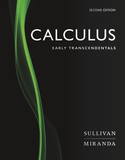 Calculus by Michael Sullivan, Kathleen Miranda - Second Edition, 2019 from Macmillan Student Store