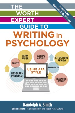 Worth Expert Guide to Writing in Psychology by Randolph Smith - First Edition, 2020 from Macmillan Student Store