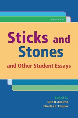 Sticks and Stones by Rise B. Axelrod; Charles R. Cooper - Ninth Edition, 2016 from Macmillan Student Store