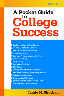 Pocket Guide to College Success by Jamie Shushan - Second Edition, 2017 from Macmillan Student Store