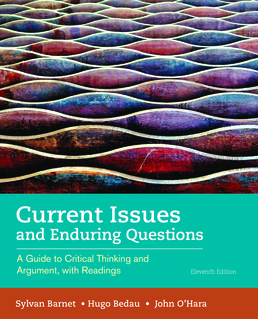 Current Issues and Enduring Questions by Sylvan Barnet; Hugo Bedau; John O'Hara - Eleventh Edition, 2017 from Macmillan Student Store