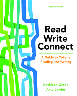 Read, Write, Connect by Kathleen Green; Amy Lawlor - Second Edition, 2017 from Macmillan Student Store