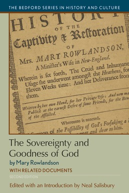 The Sovereignty and Goodness of God by Neal Salisbury; Mary Rowlandson - Second Edition, 2018 from Macmillan Student Store