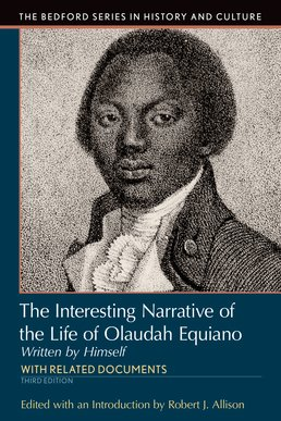 Interesting Narrative of the Life of Olaudah Equiano by Robert J. Allison - Third Edition, 2016 from Macmillan Student Store