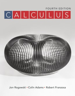 Calculus by Jon Rogawski; Colin Adams; Robert Franzosa - Fourth Edition, 2019 from Macmillan Student Store
