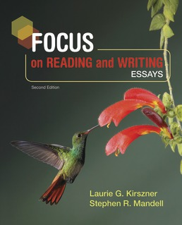 Focus on Reading and Writing by Laurie G. Kirszner; Stephen R. Mandell - Second Edition, 2019 from Macmillan Student Store