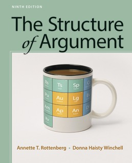 Structure of argument 1319056628 macmillan learning student store structure of argument by annette t rottenberg donna haisty winchell ninth edition fandeluxe Image collections