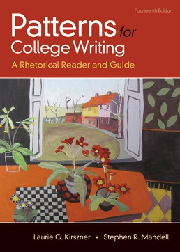 Patterns for College Writing by Laurie G. Kirszner; Stephen R. Mandell - Fourteenth Edition, 2018 from Macmillan Student Store