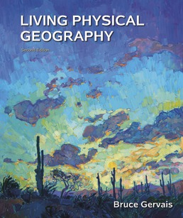 Living Physical Geography by Bruce Gervais - Second Edition, 2019 from Macmillan Student Store