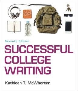 Successful College Writing by Kathleen T. McWhorter - Seventh Edition, 2018 from Macmillan Student Store