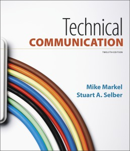 Technical Communication by Mike Markel; Stuart A. Selber - Twelfth Edition, 2018 from Macmillan Student Store