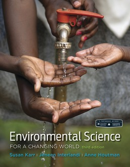 Scientific American Environmental Science for a Changing World by Susan Karr; Anne Houtman; Jeneen Interlandi - Third Edition, 2018 from Macmillan Student Store