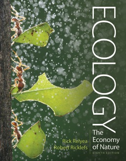 Ecology: The Economy of Nature - Rental Only by Rick Relyea; Robert E. Ricklefs - Eighth Edition, 2018 from Macmillan Student Store