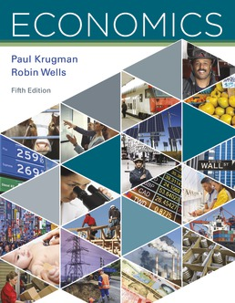 Economics by Paul Krugman; Robin Wells - Fifth Edition, 2018 from Macmillan Student Store